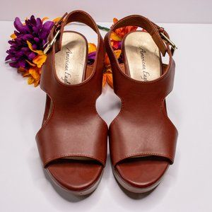 American Eagle | Size 9 | Brown Wedges